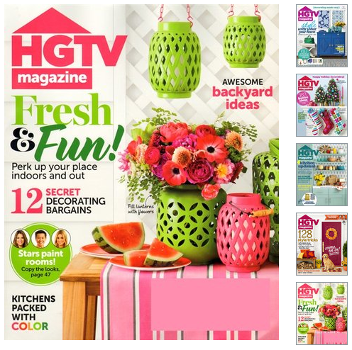 Rare! HGTV Magazine Deal! TWO Years for just $19 99! - Money