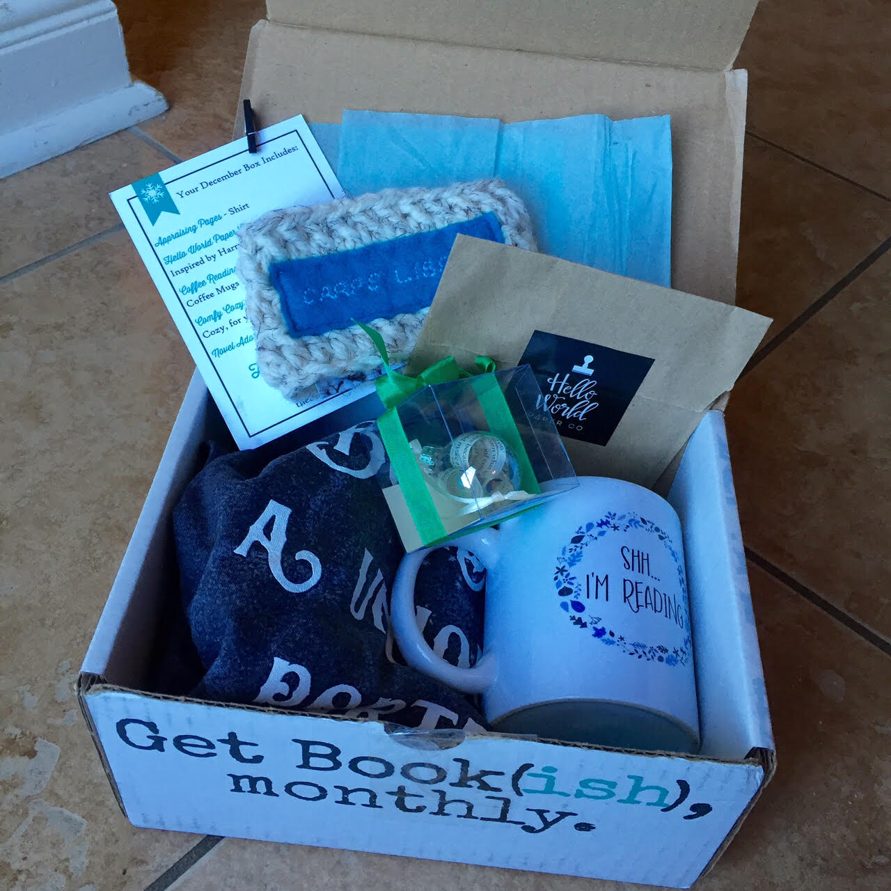 Start a subscription box service...