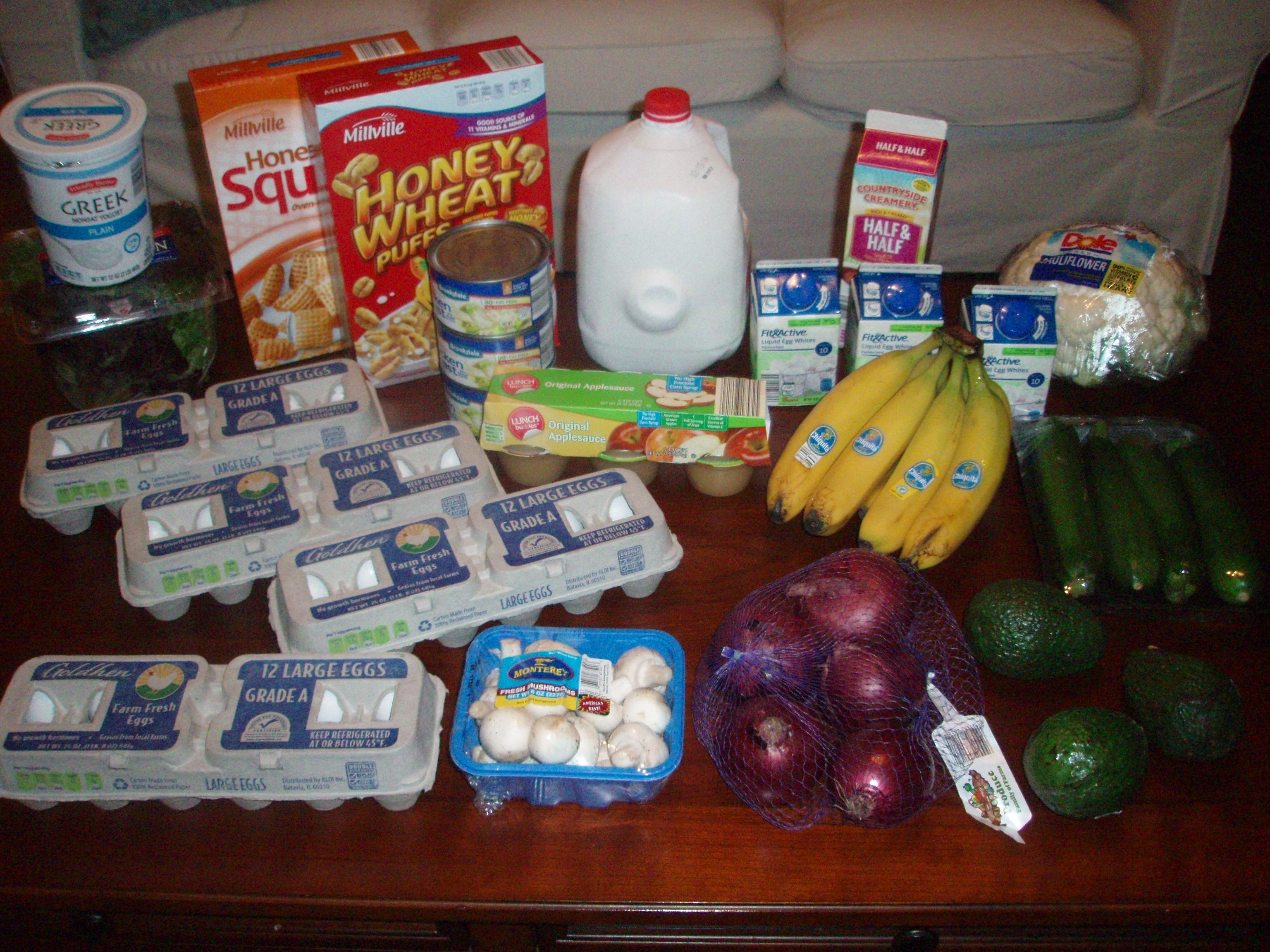 Brigette's $51 Grocery Shopping Trip and Weekly Menu Plan for 6