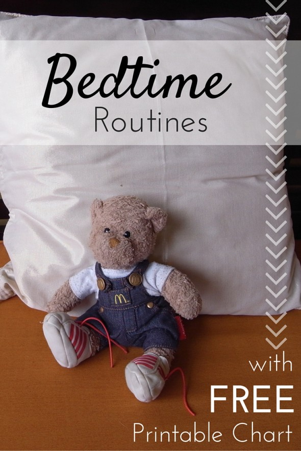 Free Bedtime Routines for Children Printable