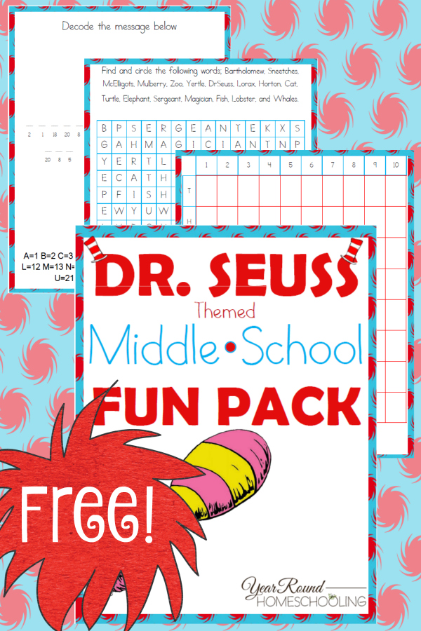 Free-Dr.-Seuss-Middle-School-Fun-Pack-By-Year-Round-Homeschooling