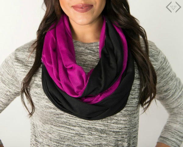Get a Jersey Infinity Scarf for just $7.96 shipped!