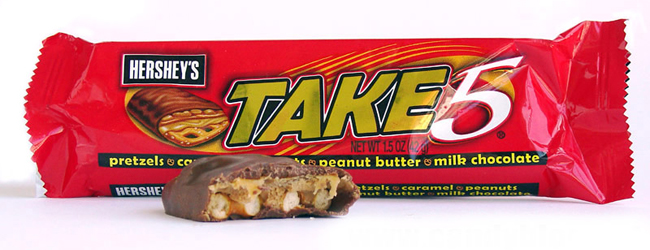 Get a free Take 5 candy bar at Kroger with this new e-coupon!