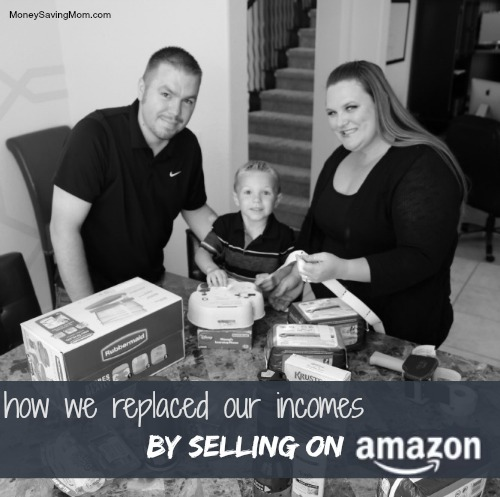 Jessica-Cliff-of-TheSellingFamily.com-labeling-products-to-send-for-Amazon-FBA-1