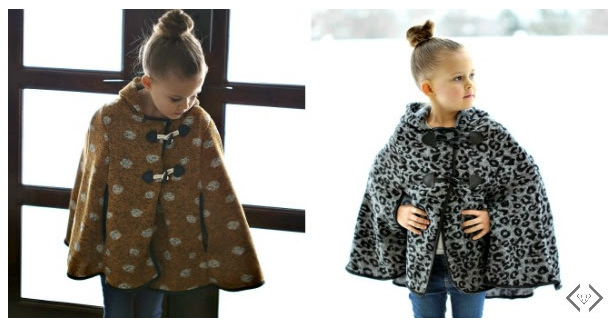 You can get kids' graphic zip hoodies for $12.95 and girls' hooded ponchos for $16.95 shipped today!