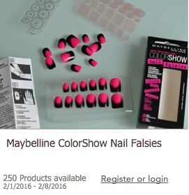 You may qualify to request free Maybelline ColorShow Nail Falsies right now when you sign up for the Toluna Online Survey Panel.