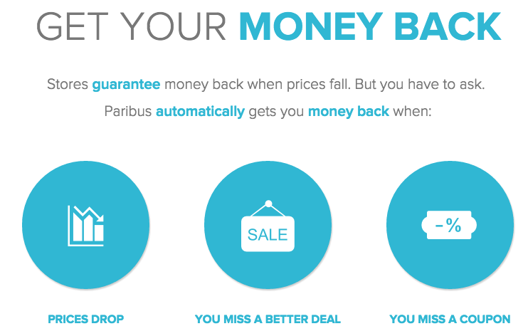 Sign up for Paribus to start getting the absolute best online price guaranteed on items you buy!