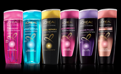 Sign up for a free sample of L'Oreal hair care!