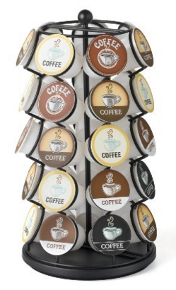 Get this K-Cup Carousel for just $10.99 right now -- the best price ever on record!