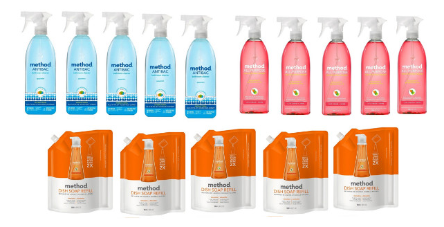 Get 15 Method cleaners for just $24.85 shipped at Target right now!