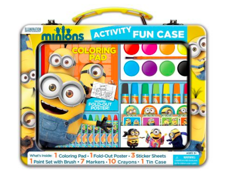 Get this Minions Art Activity Fun Case for just $8.49 right now!!