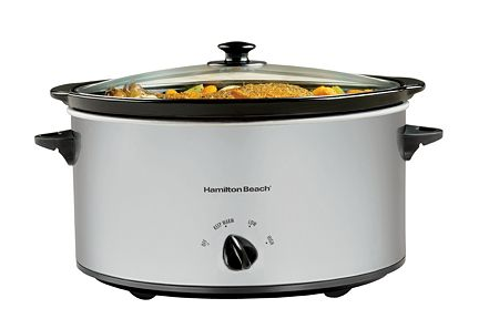Get this Hamilton Beach 6-Quart Slow Cooker for just $11.99 shipped at Kohl's right now!