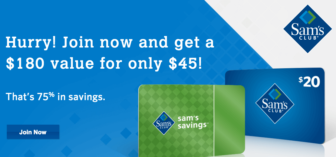 Sam's Club: Pay $45 for membership, $20 gift card, and $19 in food ...