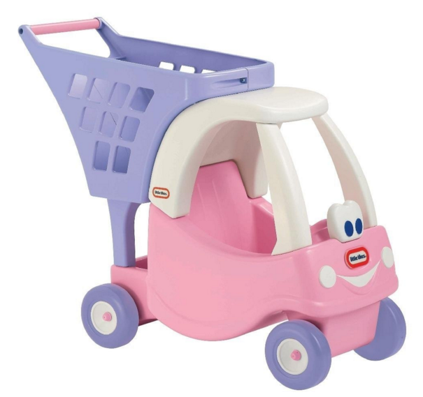 Little tikes cozy shopping cart for just 25 for Little tikes 2 in 1 buildin to learn motor workshop
