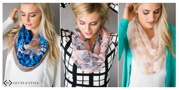 Get Spring Lightweight Scarves for just $4.49 each shipped today at Cents of Style!