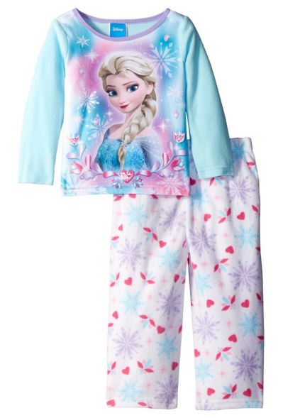 Get this Disney Frozen 2-Piece Pajama Set for just $5.64 right now!