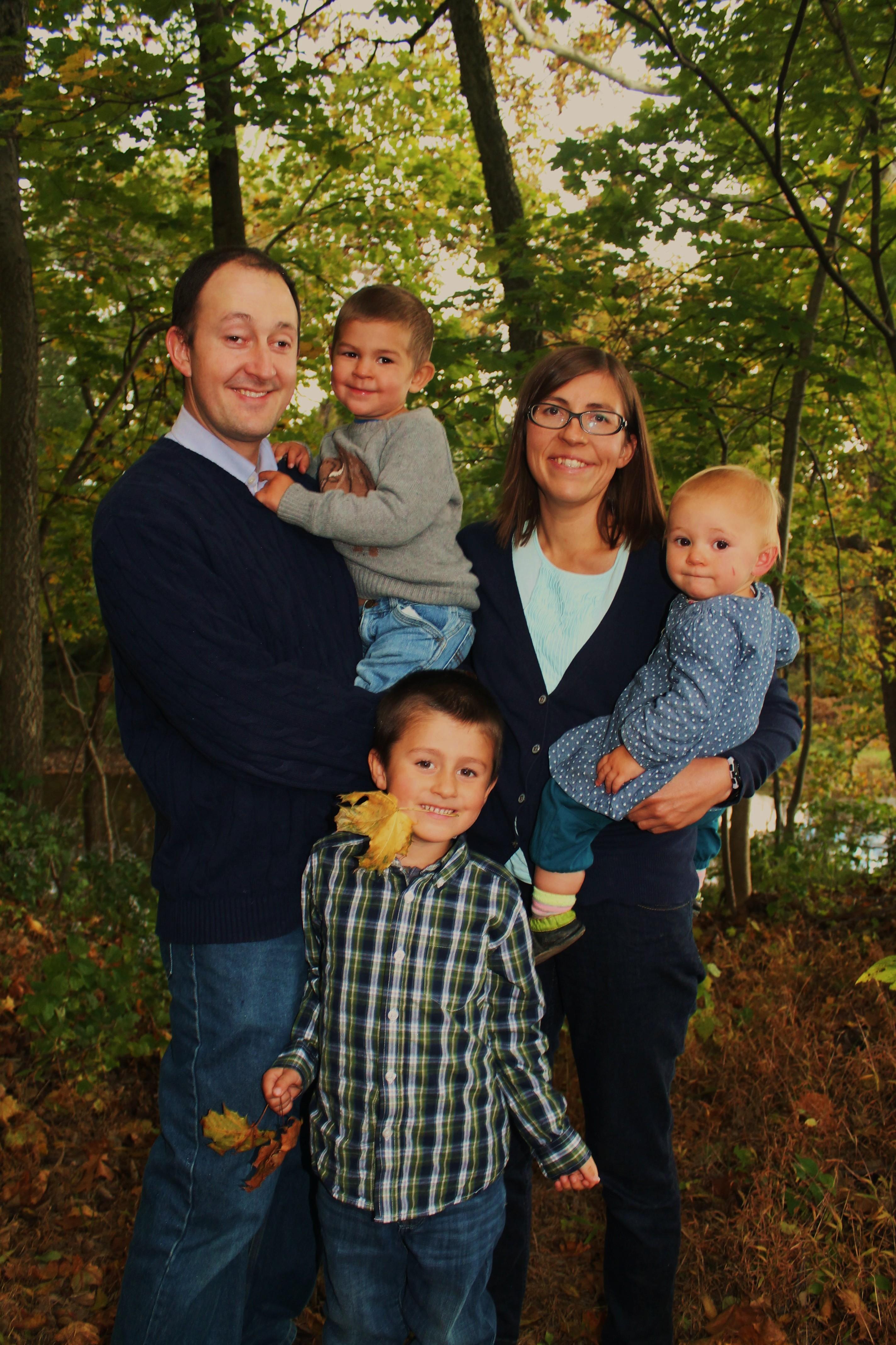 Stephanie YNAB Success Story Family Photo