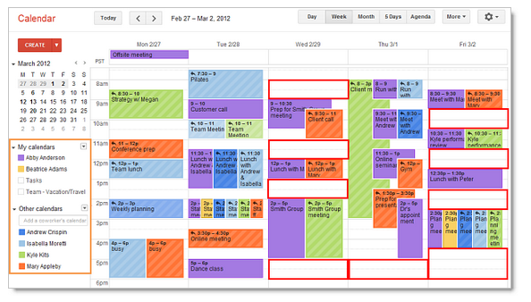Create Shared Calendar Google Apps Business