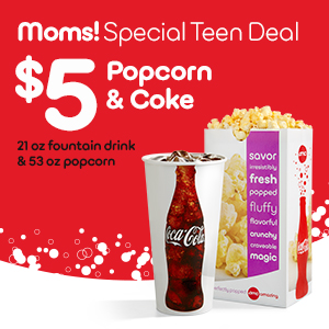 Students Can Get A Coke And Popcorn For Just 5 At AMC Theatres Right Now With