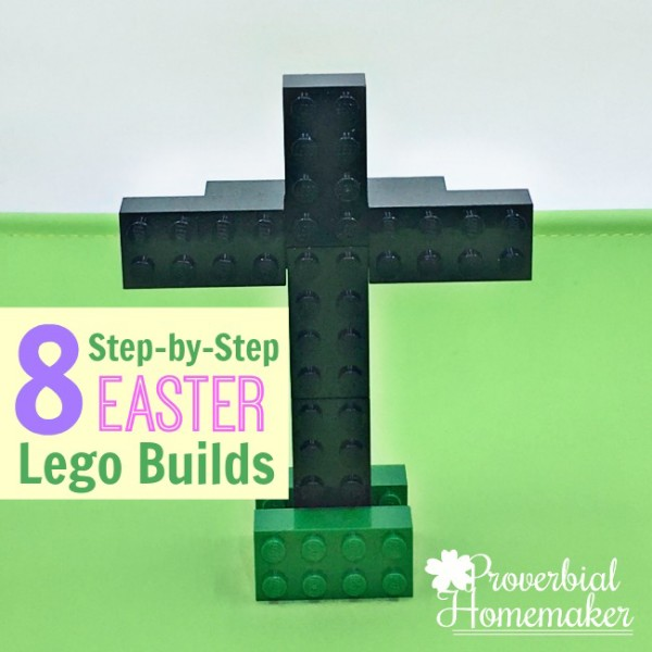 8 Step-by-Step Easter LEGO Builds