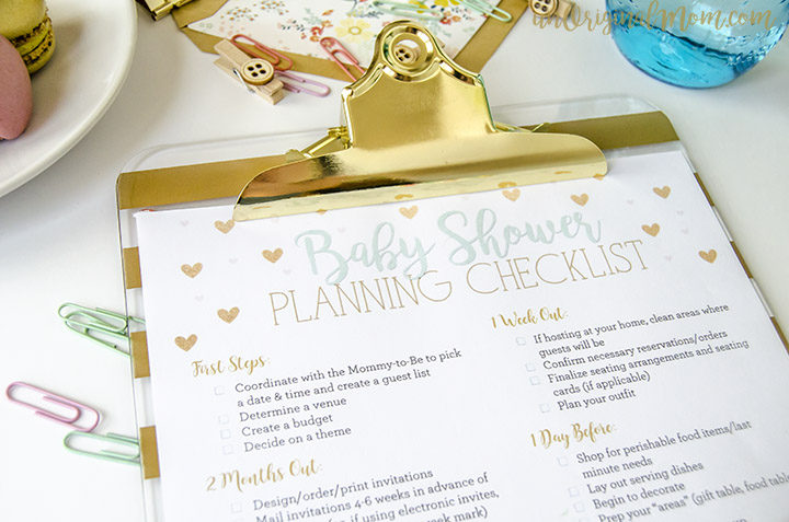 free printable baby shower planning checklist money saving mom