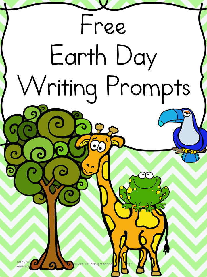 earth day writing Earth day writing prompts {free} - frugal homeschool family says: april 7, 2014 at 5:31 am all you do has created some earth day writing prompts are a great way to work with your kids on their creative writing.