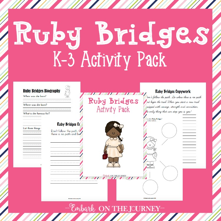 Free Ruby Bridges Printable Pack - Money Saving Mom®