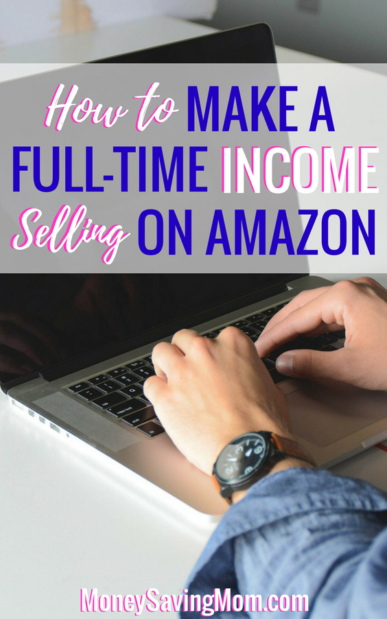 Make a full-time income by selling on Amazon! Read this post to learn more and sign up for a FREE course!