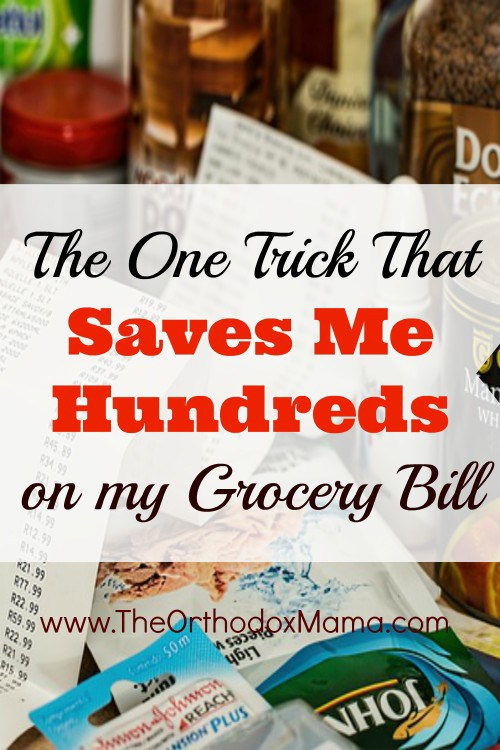 One Trick That Saves Me Hundreds on my Grocery Bill