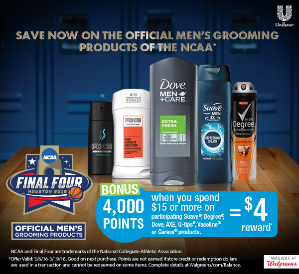 Save on men's grooming products at Walgreens, plus enter to win a $100 Walgreens gift card!