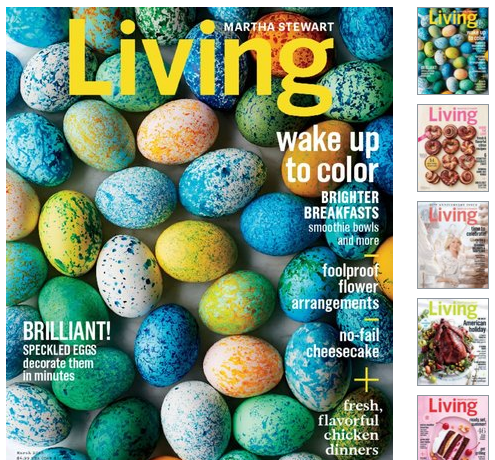 Get A Subscription To Martha Stewart Living Magazine For Just $5 Per Year!