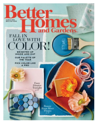 Sign up for a free one-year subscription to Better Homes and Gardens Magazine!
