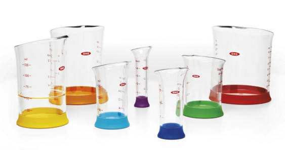 Get this OXO Good Grips 7-Piece Nesting Measuring Beaker Set for just $15.99!
