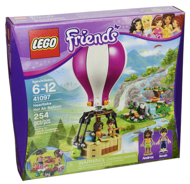Get this LEGO Friends Heartlake Hot Air Balloon Set for just $15.99 right now!