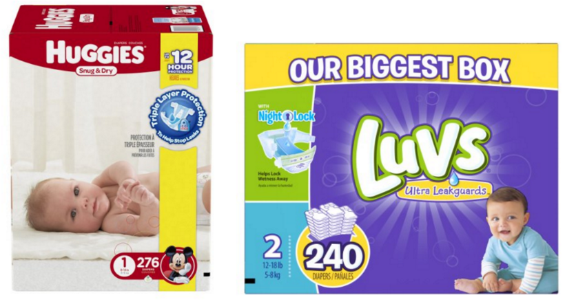 Get stock-up prices on diaper and wipes on Amazon right now!