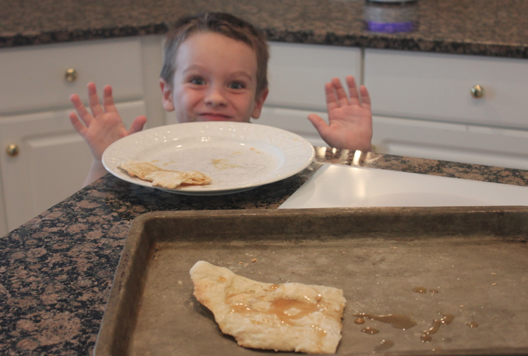 Easter -- Making Unleavened Bread