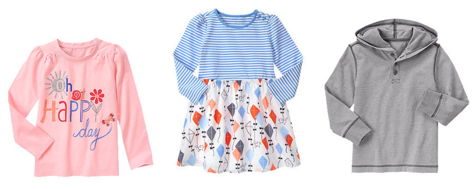 Shop the Gymboree Sale to get kids' clothing for as low as $4.99 right now!