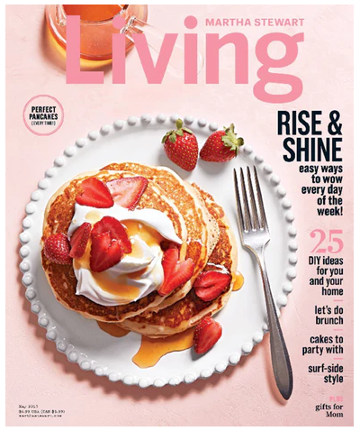 Martha Stewart Living Magazine for just $4.99 per year!