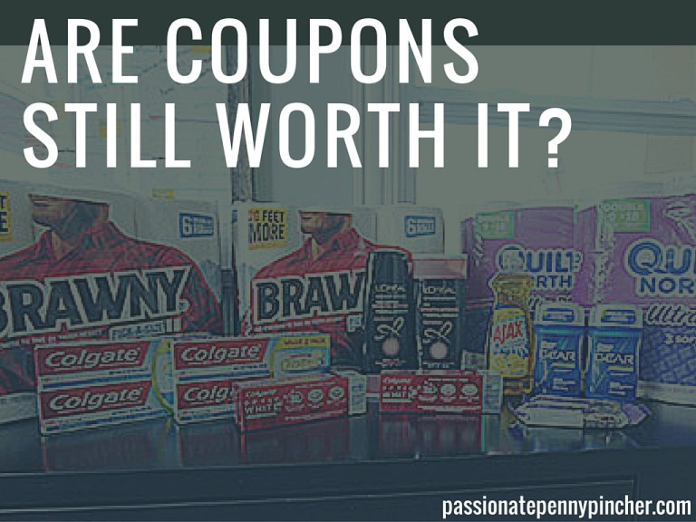 Are Coupons Still Worth It?