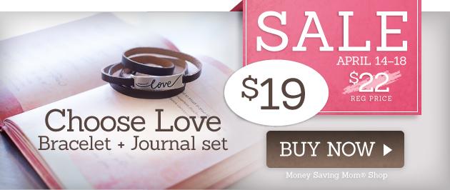 Choose-Love-Bracelet-Journal