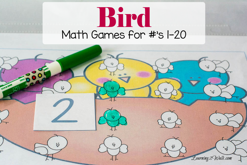Free Printable Bird Math Games - Money Saving Mom®