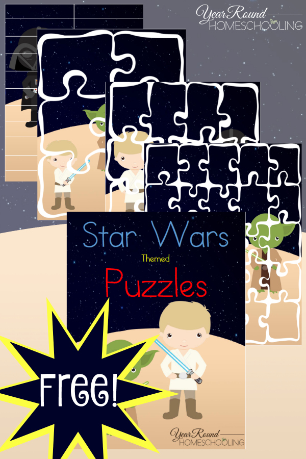 Free Printable Star Wars Themed Puzzles