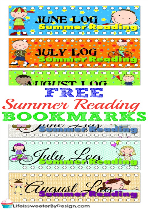 photo relating to Free Printable Bookmarks called No cost Printable Summer time Studying Bookmarks for Young children Economical