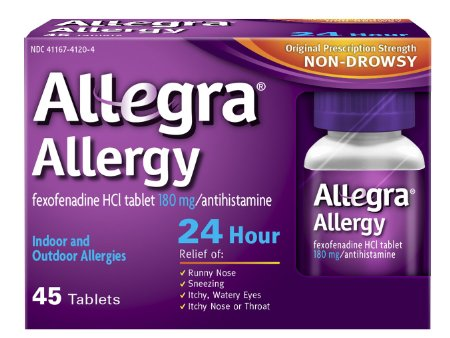 Free Sample of Allegra Allergy 24-Hour!