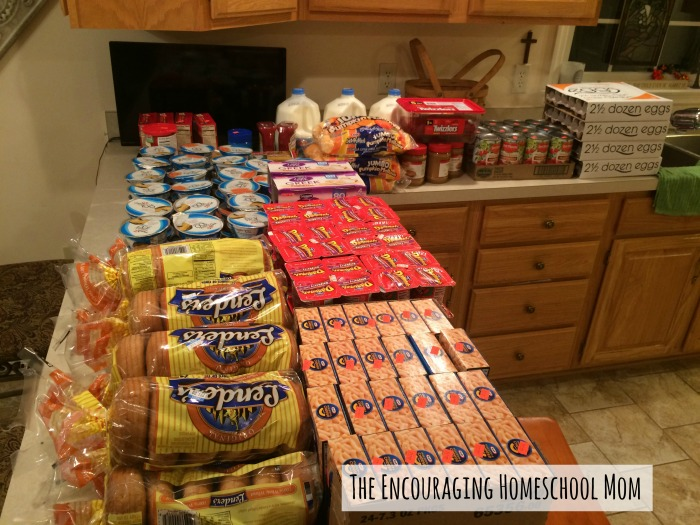 One Week Grocery Shopping Haul for a Large Family