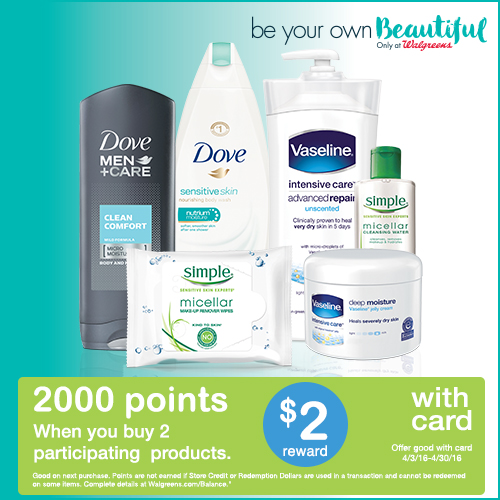 Save on skin care products at Walgreens + enter to win a $50 gift card!