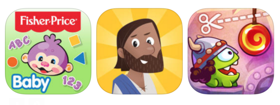 This week's Free App Friday features two Bible apps, Minecraft, Fisher-Price, and many more!