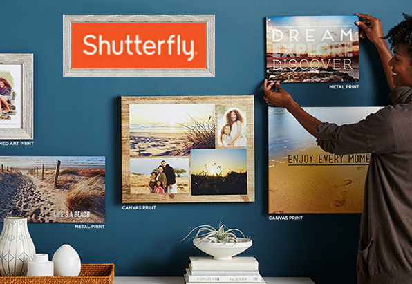 Get $20 off any Shutterfly purchase of $20 or more right now!