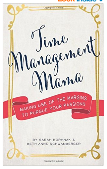 Time Management Mama book