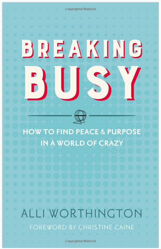 Breaking Busy time management book